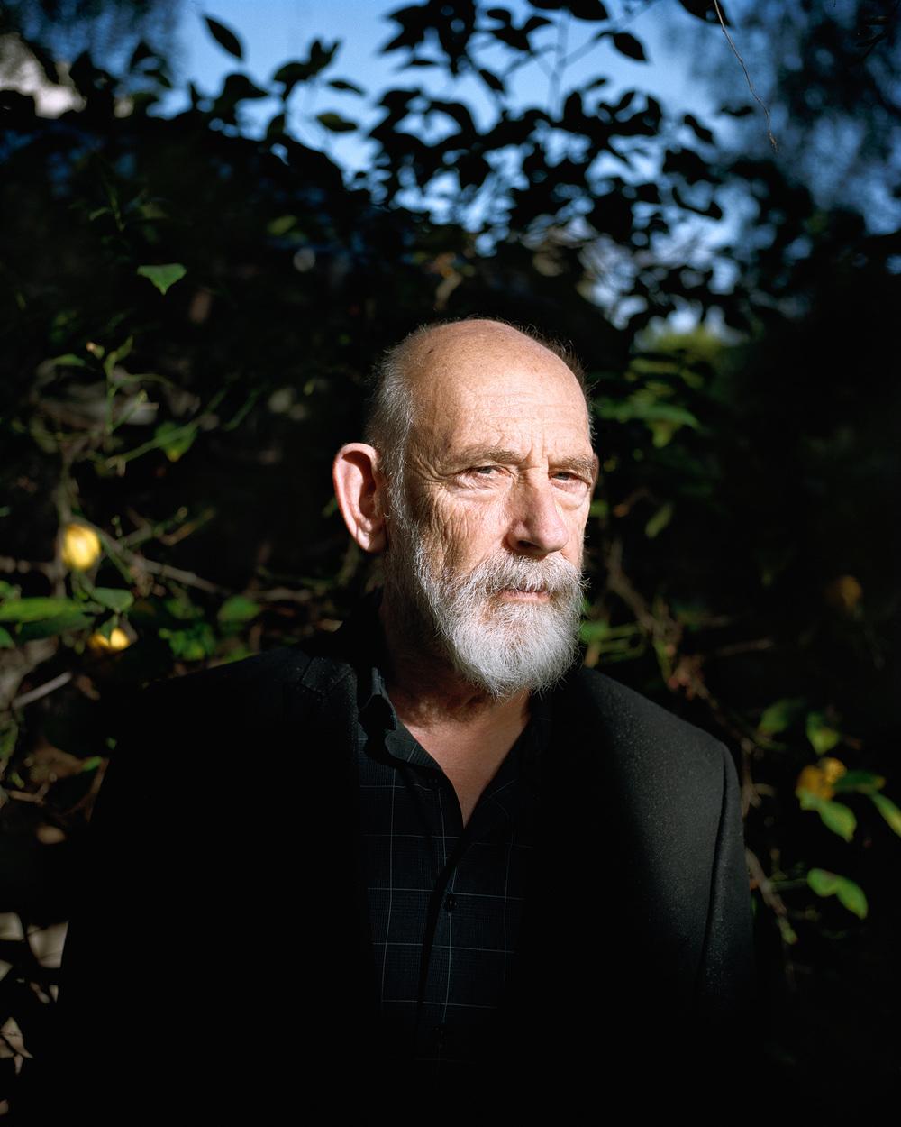 Leonard Susskind at his home in Palo Alto, California