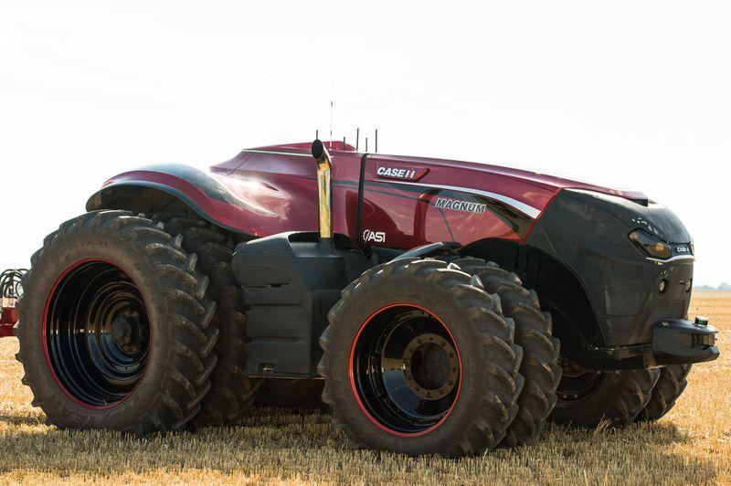 CNH Autonomous Concept Vehicl