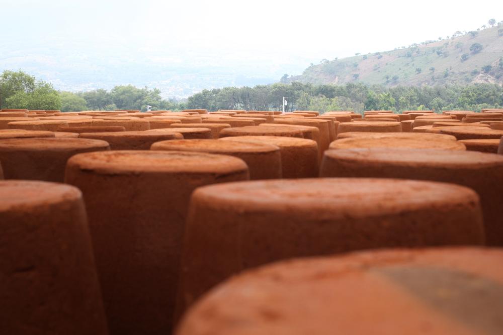 La fábrica de Ecofiltro se encuentra en San Antonio Aguas Calientes, muy cerca de Antigua Guatemala.