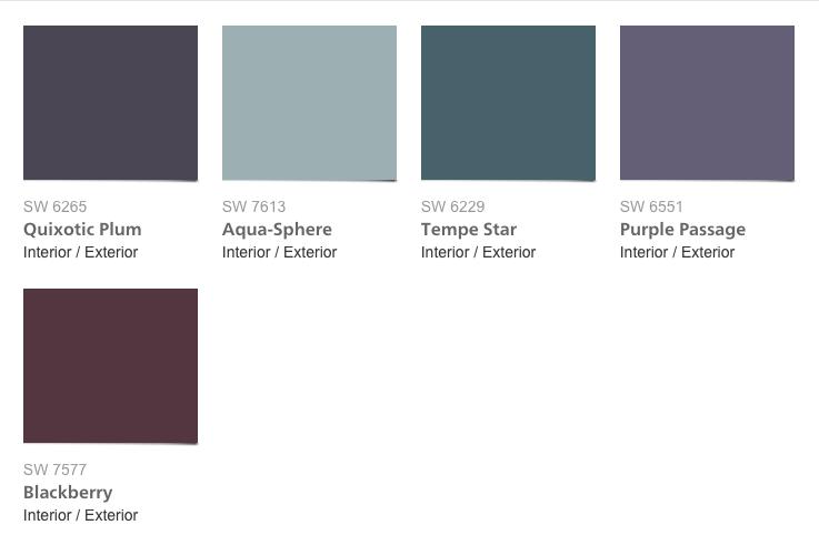 El tercero habla de dinamismo. Se llama Trayectoria y es un grupo de colores que representan el nuevo mundo de vanguardia en que vivimos, matices profundos en tonos azules y violetas. Fuerte sentimiento de asombro y descubrimiento.