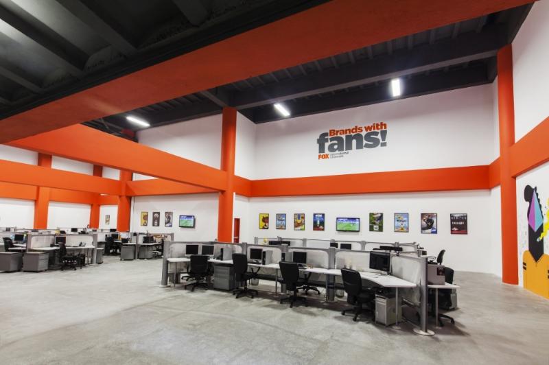 Interior oficinas corporativas.