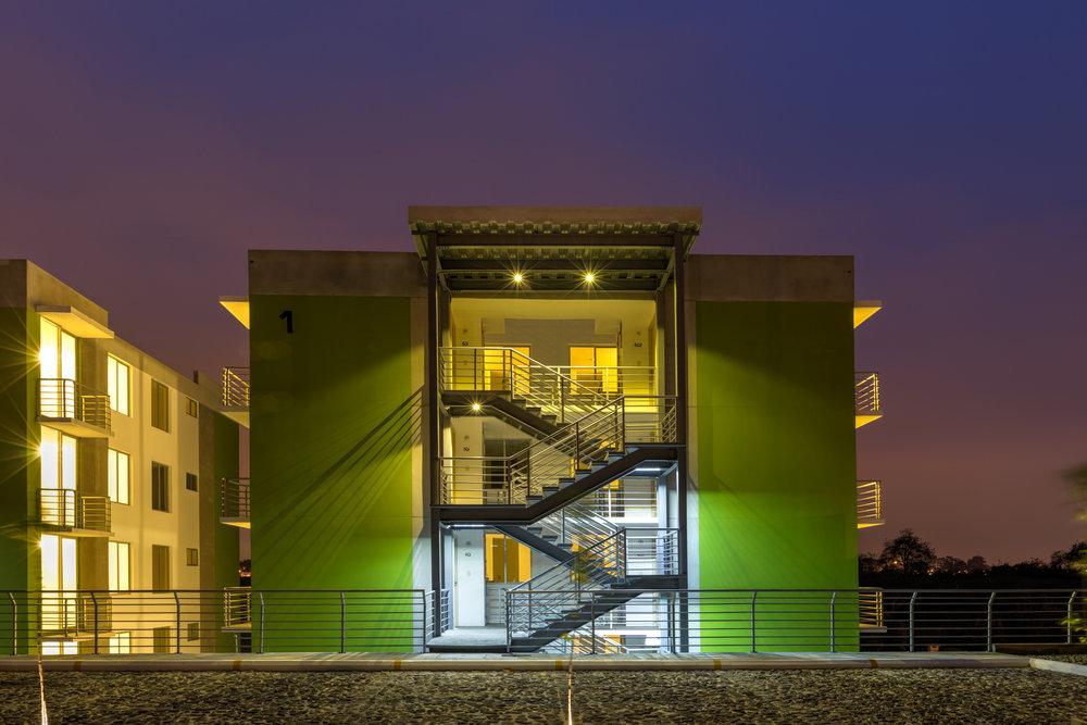 Apartamentos de menos de 80 metros cuadrados, Altos de La Sabana, proyecto diseñado para Conceptos Urbanos.