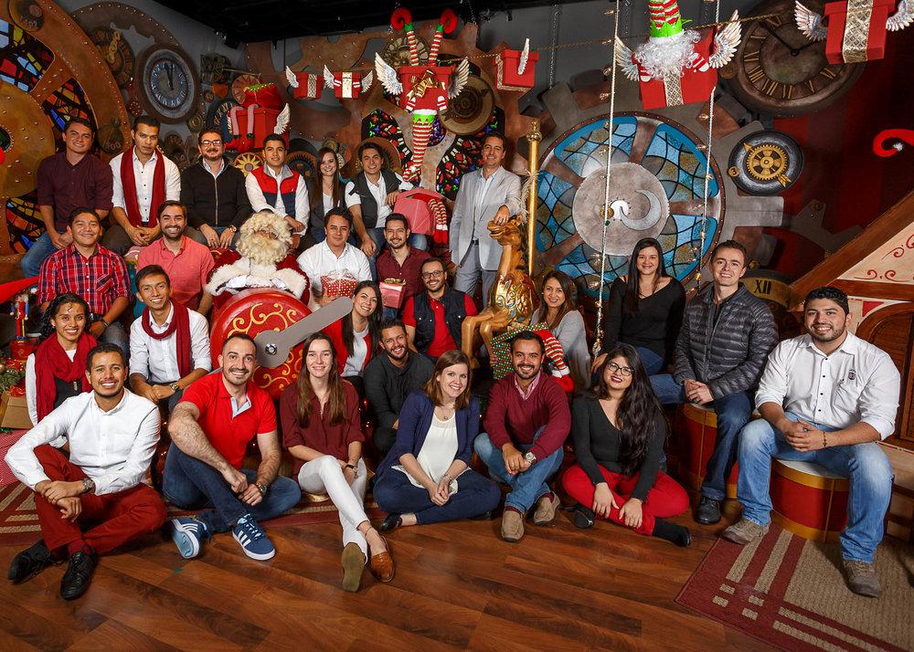 ¡Equipo de Studio Domus con Santa!