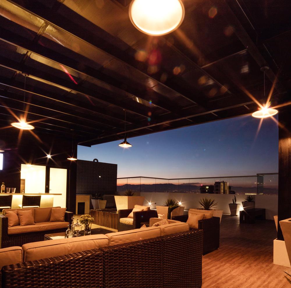 Sky Lounge Ágora 1501