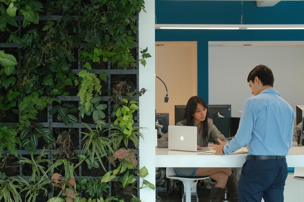 Espacios que invitan a colaborar, al brainstorming, a la creatividad y a la solución inmediata.
