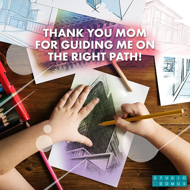 #HappyMothersDay! We love you ❤️ . #sketch #design #architecture #drawing #archlife #architexture #architecturedesign #studiodomus #welovestudiodomus #thankyoumom #arcitecturedesign