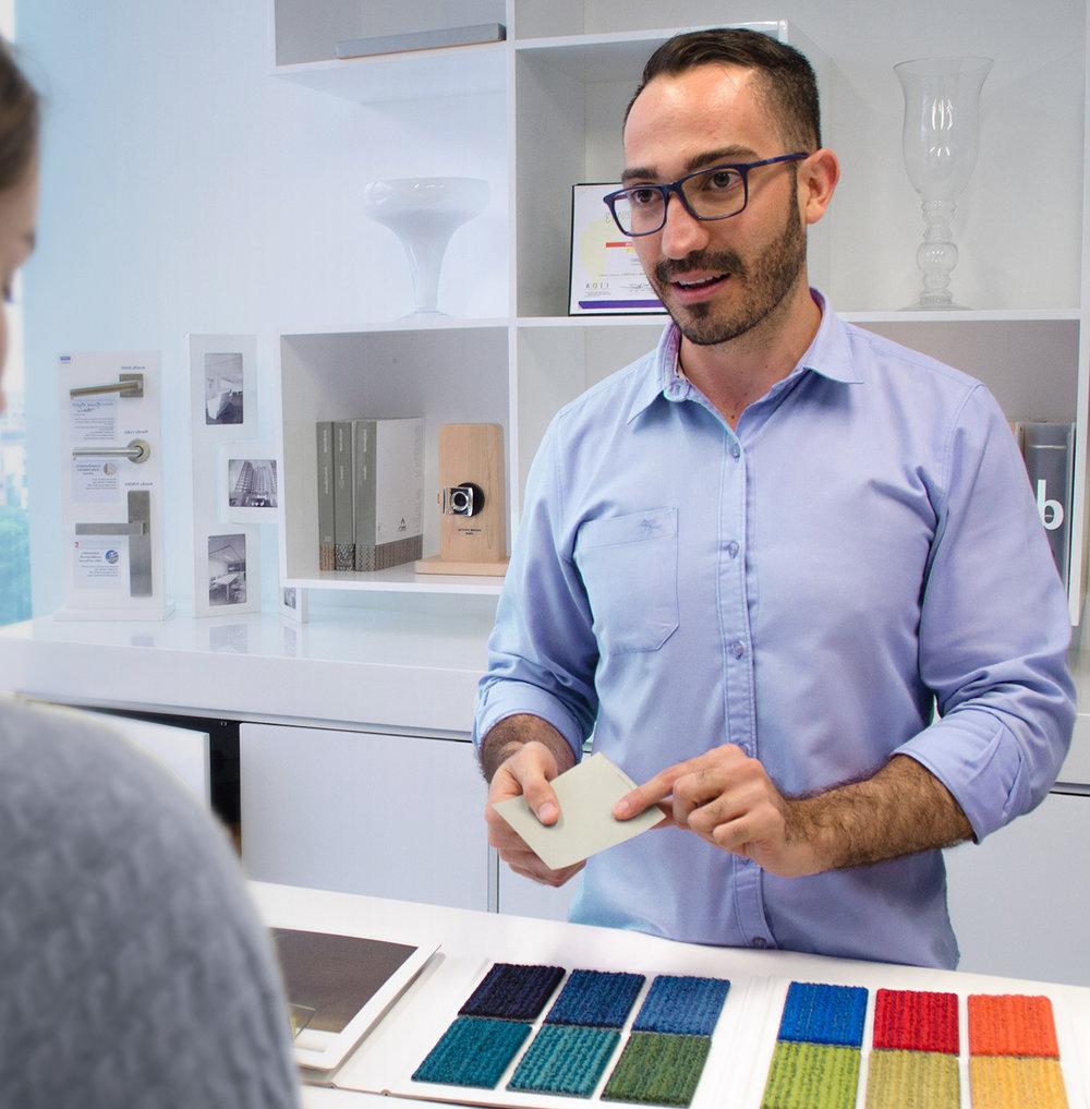 Félix Cardona, Director del Departamento de Diseño de Interiores.