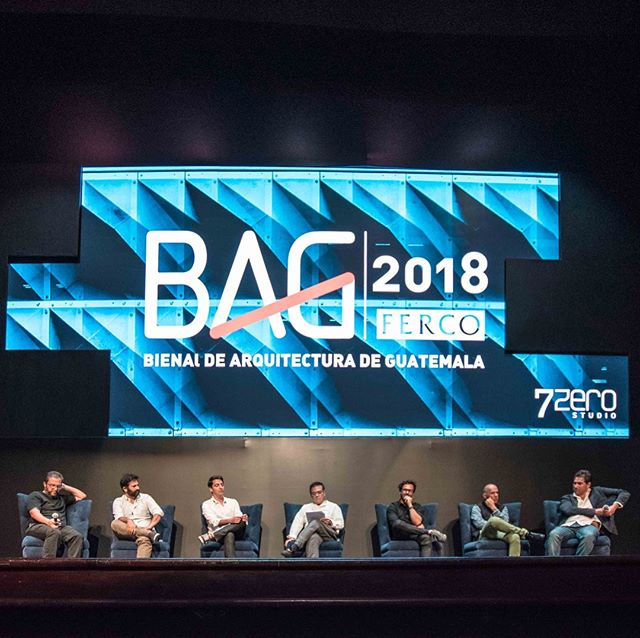"#BIENARQTalks . Thank you for joining us yesterday in the second #BIENARQGT 2018 at the Lux Theater. Our Principal Architect Mauricio Barillas was sharing in his conference ""The Office of the Future"" and in the Panel: ""Beyond Fundamentals"" with national and international speakers. @maubarillas . We hope to participate in the next meetings of this beautiful profession and we appreciate the invitation to share with our colleagues #Guateesarquitectura . #StudioDomus #ArchitectureDesign #InteriorDesign #BIENARQGT"