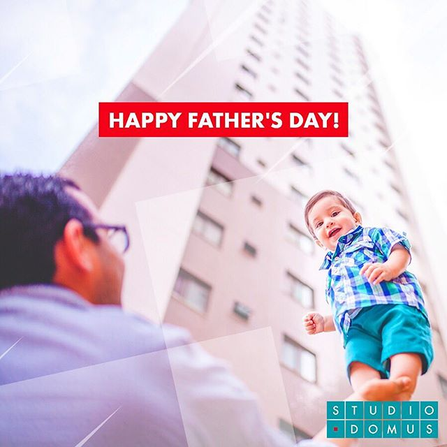#happyfathersday! . We congratulate fathers in their day thanking them for the love and friendship they have given to their children, guiding them through ¡We admire you! . Felicitamos a los papás en su día agradeciéndoles el amor y amistad que han dado a sus hijos guiándolos en el mejor camino ¡Los admiramos! ❤️ #felizdíadelpadre #StudioDomus #felizdiapapa