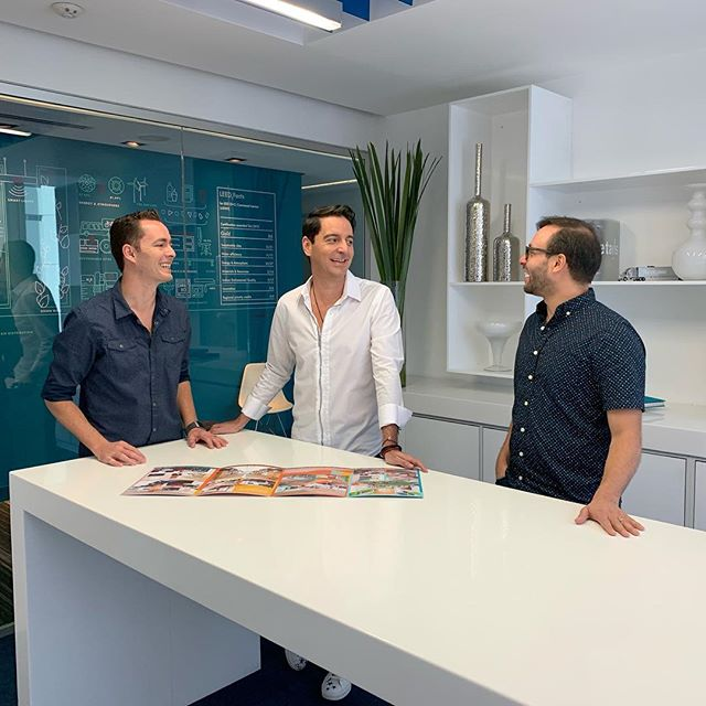 Three different partners, three different minds, three different work styles, but some how everything works perfectly! #partners #architecturephotography #architecturefirm #studiodomus #design