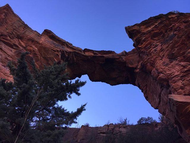 Devil's bridge, Red Rocks Sedona, Az