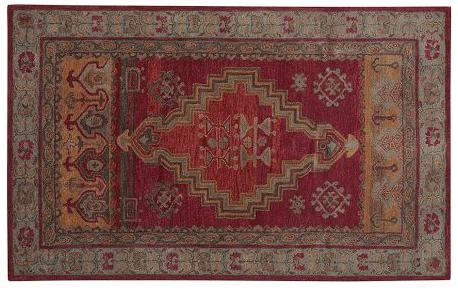 Arlington persian-style rug.