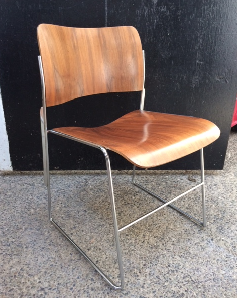 Brentwood chair with metal base. 1 available.