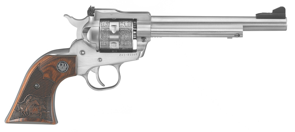 Ruger Single Six Cowboy in the works.  0676