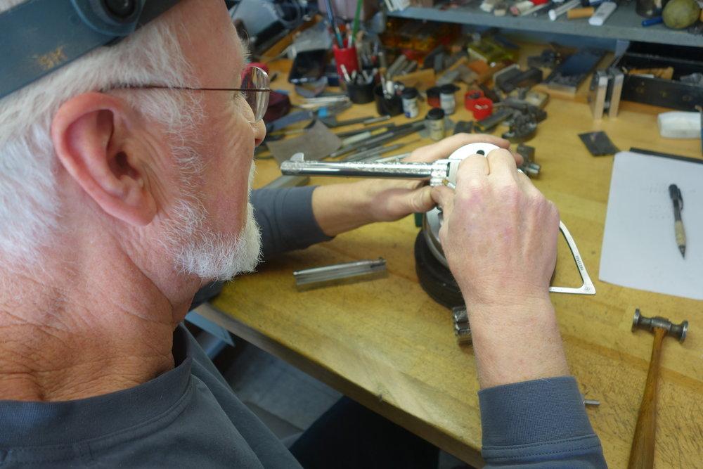 Steve Kalmyk, Colt Master Engraver