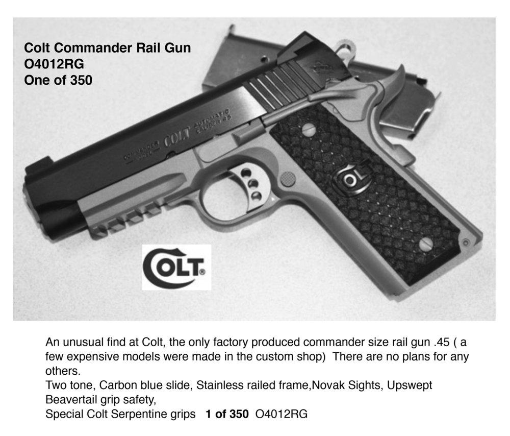 O4012rg Commander Rail Gun 1 Of 350  U2014 Talo Distributors Inc