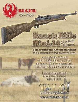 ranch mini 14 limited edition 5881 talo distributors inc