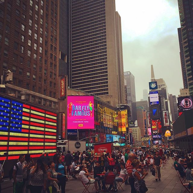 #Tourist overload at #Times #Square