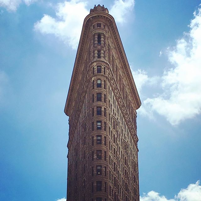 Flat Iron #Building in #Tribeca