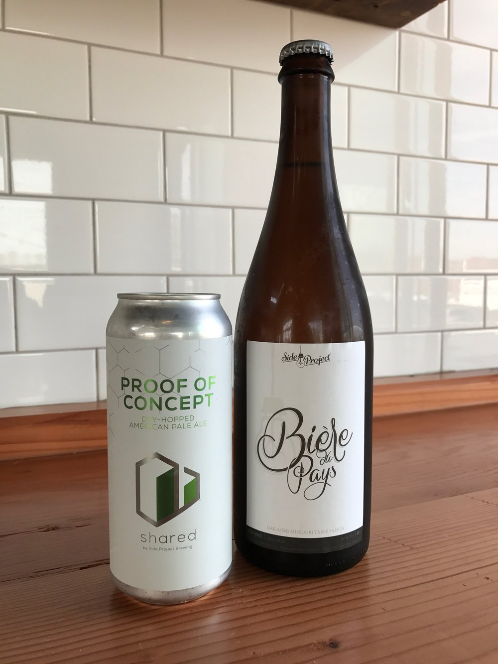 Shared Proof 0f Concept #3 and Side Project Bière du Pays Blend #5