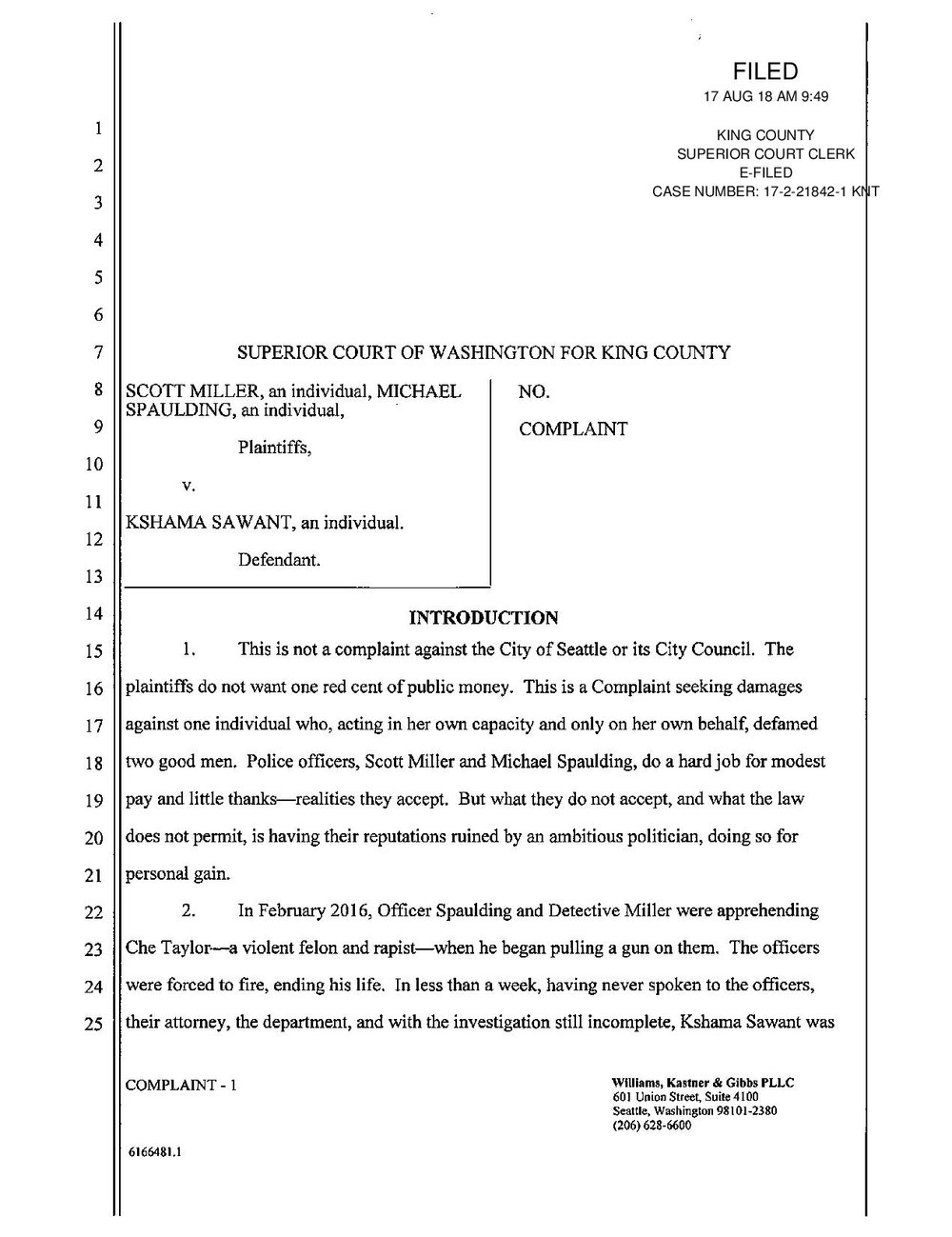 Seattle Officer s Law Suit SUMMONS&COMPLAINT-page-001.jpg
