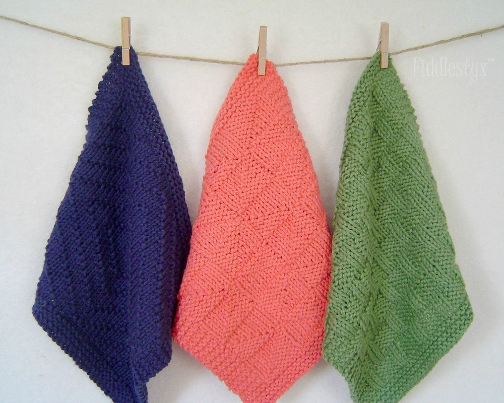 Washcloth Trio