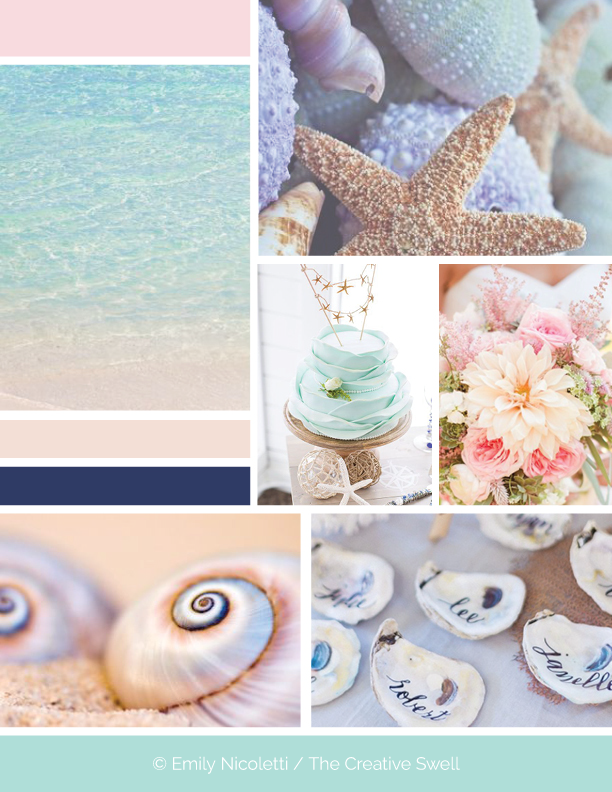 Image Links:  sea ,  starfish ,  cake ,  flowers ,  shells ,  name shells