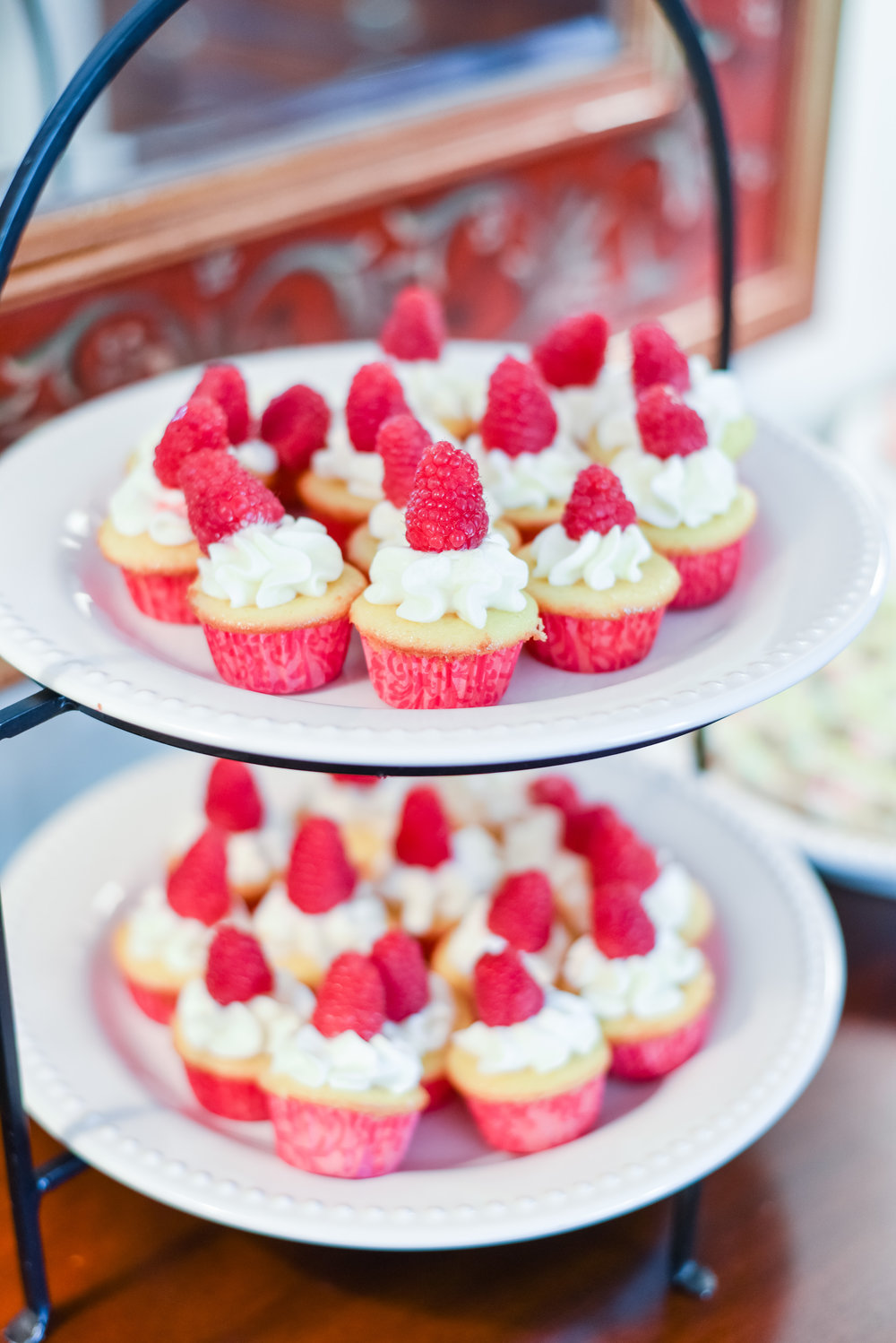 The cutest little cupcakes! [Photo: Courtney Timms Photography]