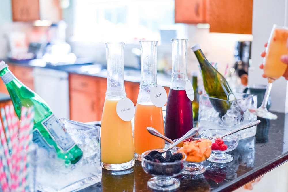 Mimosa bar! [Photo: Courtney Timms Photography]