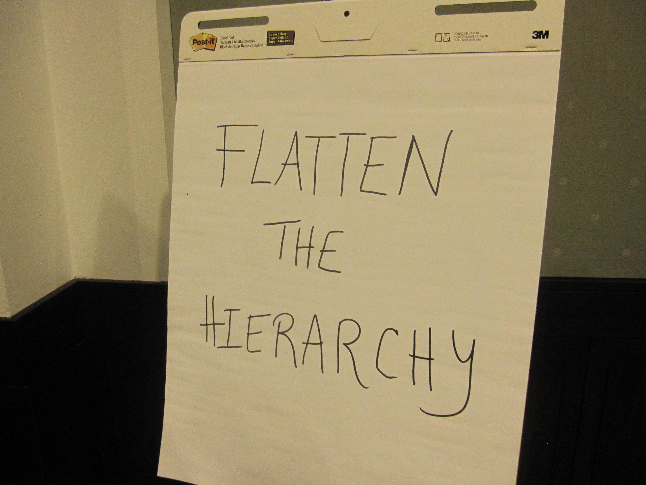 Flatten the Hierarchy!