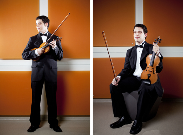 Matheus Souza, violinist, University of Missouri School of Music
