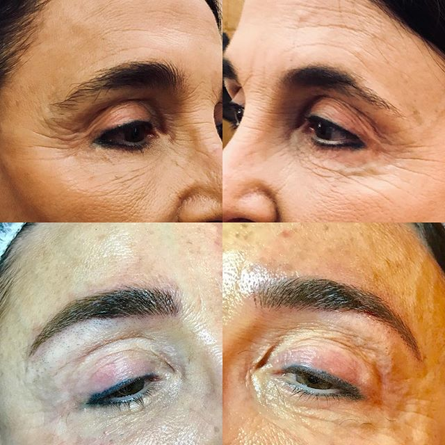 A beautiful result with microblading 😊