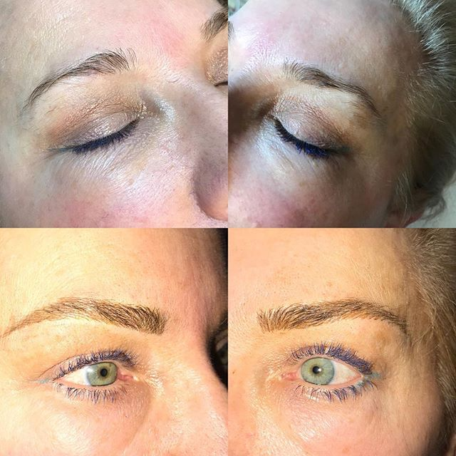 Another great result today #microblading