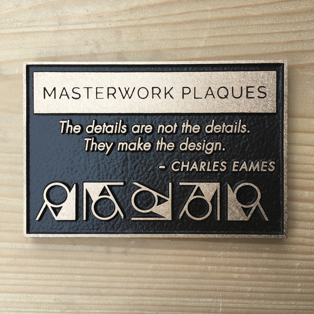 cast bronze-masterworkplaques-satin finish-geometry-mwp.jpg