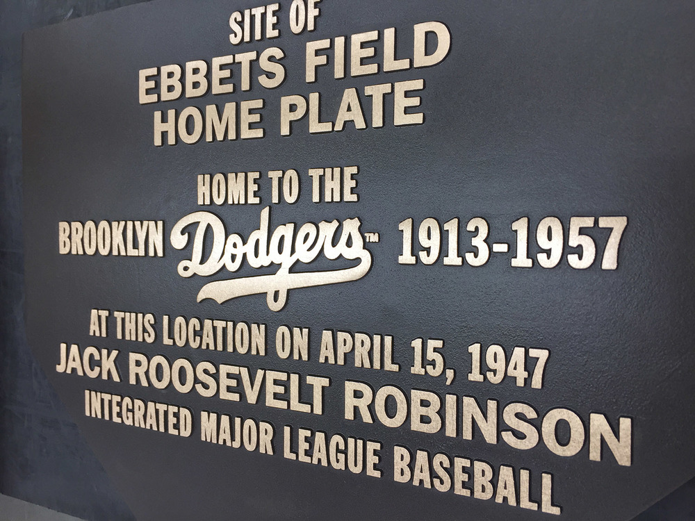 ebbets field plaque-jackie robinson-cast bronze plaque-masterwork plaques.jpg