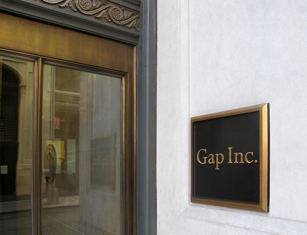 Cast Bronze Gap Plaque