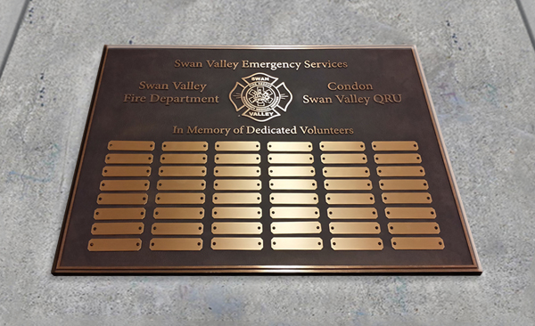Dedication Plaques - Donor Recognitions & Memorials ...