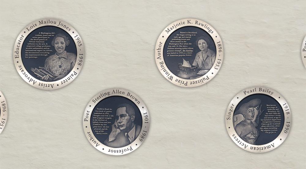 Cast Bronze Portrait Medallions - Historic Plaques - Masterwork Plaques