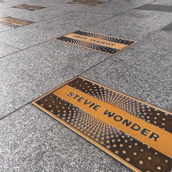 Cast Bronze plaques - Apollo Theater - Walk of Fame - Masterwork Plaques