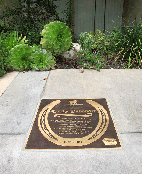 Thoroughbred Walk of Champions - Arcadia, CA - Bronze Series Plaques - Walk of Fame - Masterwork Plaques