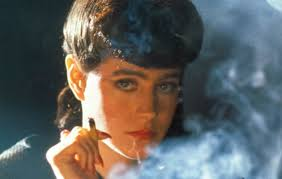 "Sean Young in the sci-fi cult classic, ""Blade Runner."""