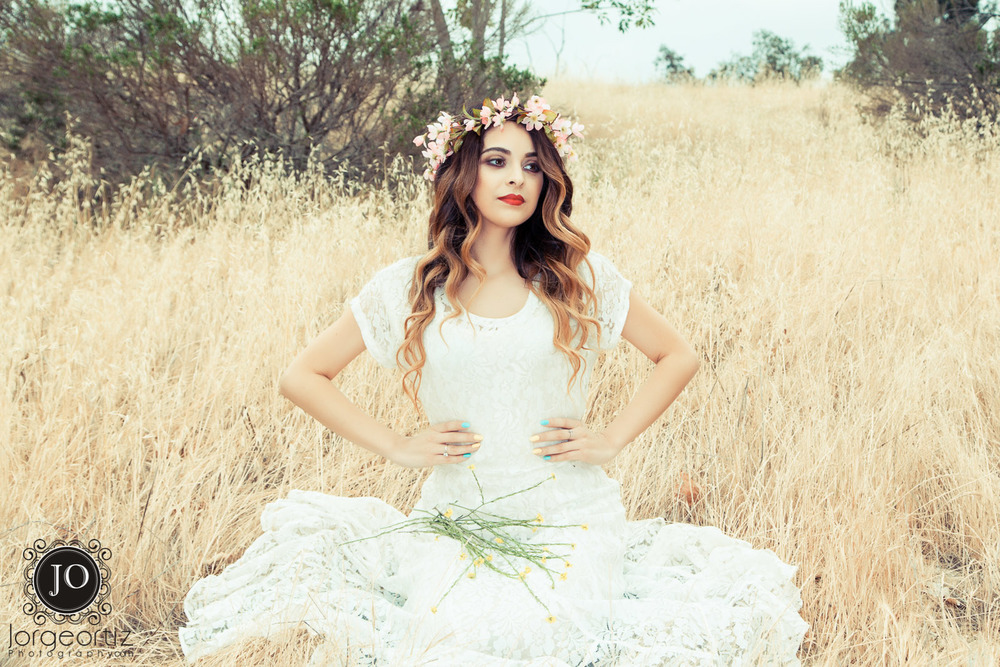 Vanessa's shoot was the third of three Bohemian sessions we had in Rowland Heights. What a busy, fun, and exciting day we all had. IG: makeup_byalejandra & aura_hairstylist