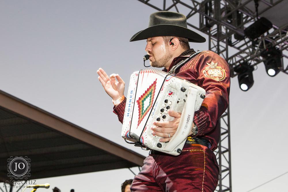 Jorge Gaxiola de Voz de Mando en el Pico Rivera Sports Arena