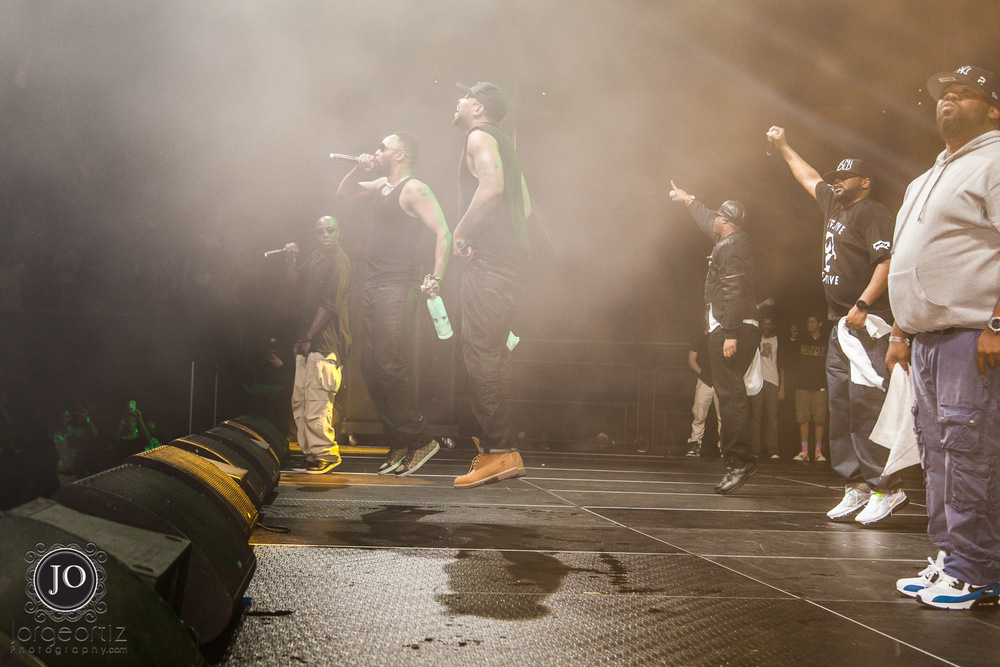 The Wu-Tang Clan Live at The Forum in Inglewood, CA 2014.  Considered by many the Greatest Hip Hop Group of all time!