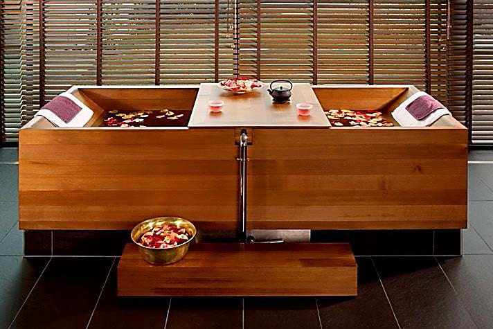 japanese bath ceremony cinq mondes spa carmel. Black Bedroom Furniture Sets. Home Design Ideas
