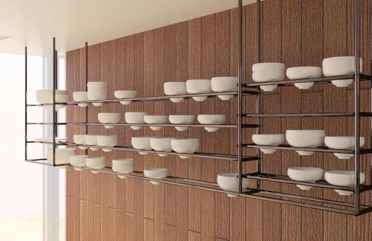 El número de piezas así como su forma y proporción se diseñan según la forma de vida y necesidades del usuario/cliente.