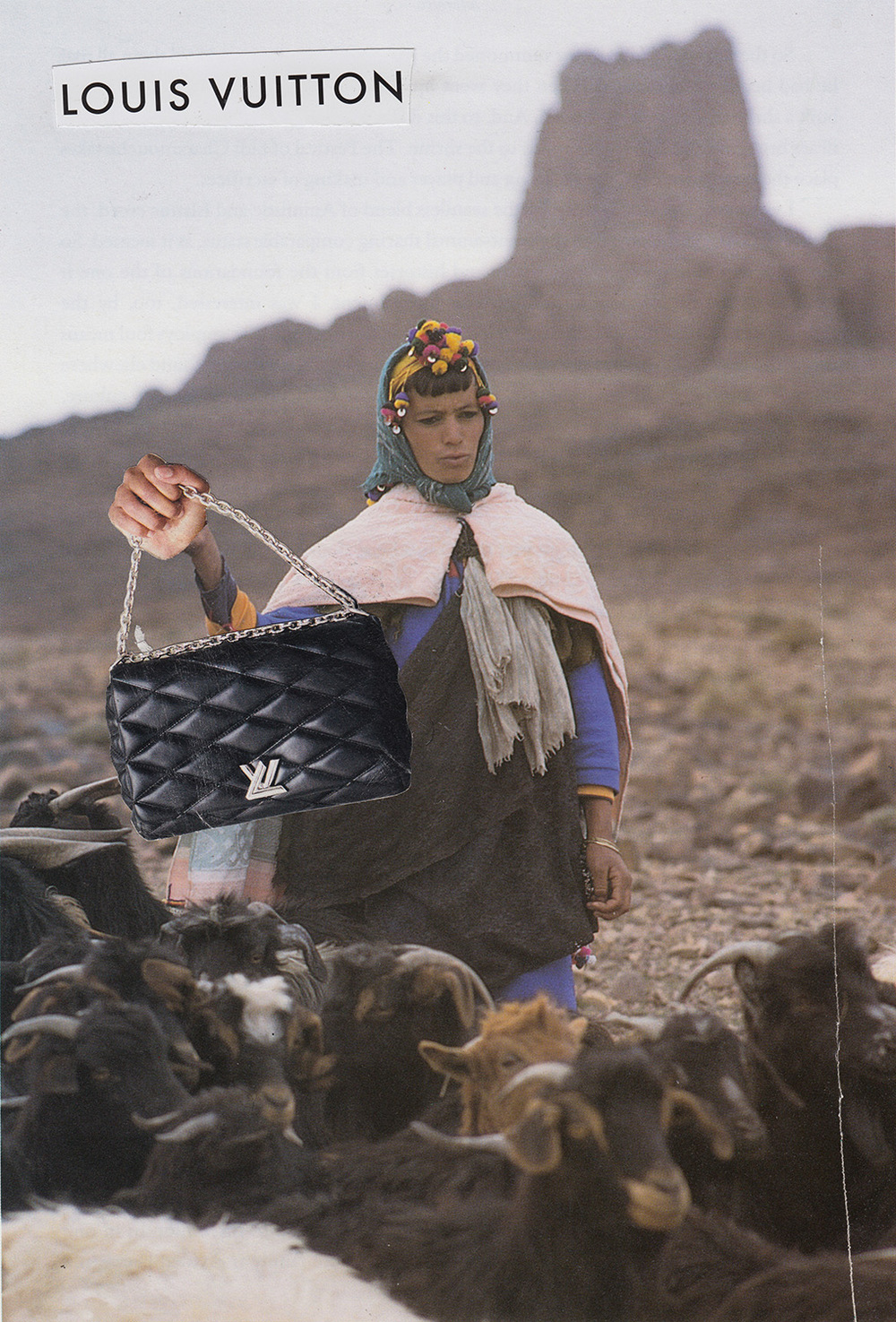 Louis Vuitton Goat Herder