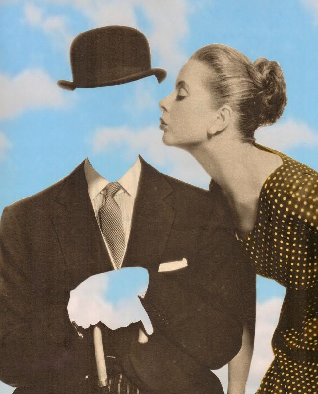 Kissing Magritte