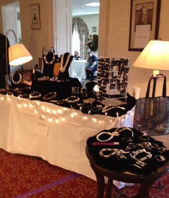 Holiday Fashion Show Event at Baltimore Country Club, sponsored by Octavia Cross Keys, Baltimore MD