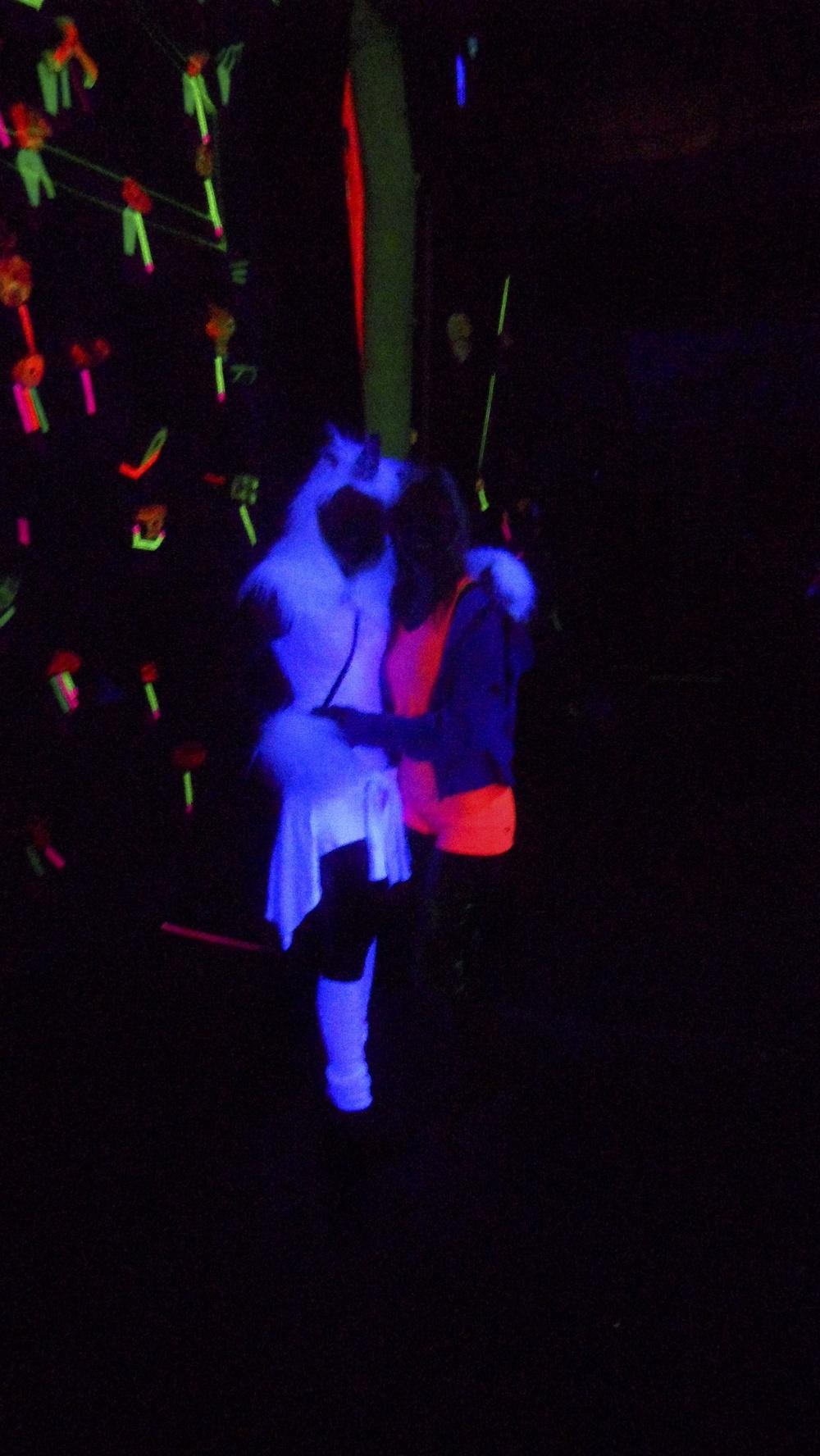 Tori Allen & Sierra Blair-Coyle at Psychedelia 2011